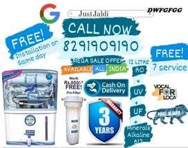 DWFGFGG RO Water Purifier Water Filter Water Tank TV DTH.   Free Fitti