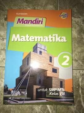 Buku Mandiri Matematika Kelas VIII SMP