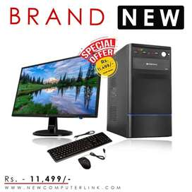 New i3 Full Set Computer | Free Wi-fi