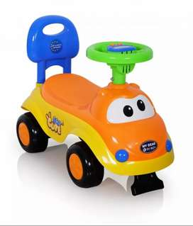 Brand New Baby Push Car with Lights, Music and Horn