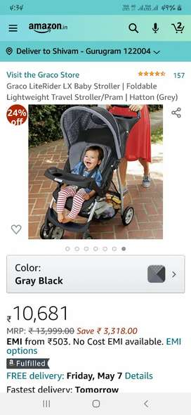 BRAND NEW LIKE STROLLER ONLY FOR 1 YEARS OLD