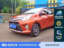 [OLX Autos] Dp 7 Jt Cayla 2018 1.2 G A/T Bensin Orange #Mamin Motor