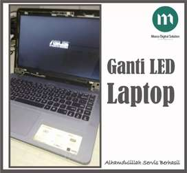 Service LED Laptop