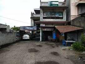 Dijual tanah dan bangunan di padang bulan dekat fly over jamin ginting