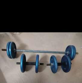 New Gym dumbells
