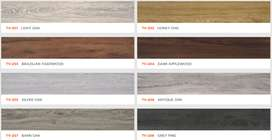 Lantai Vinyl kayu TACO 2mm