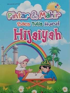 Buku hijaiyah TK