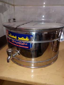 Dahi Bhallay , Fruit chat and custard container for sale