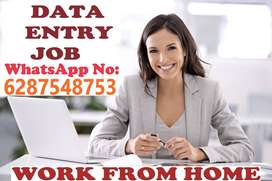 Data entry job data typing job type from PDF to note pad