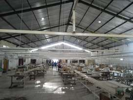 Pabrik garment include mesin atau alih fungsi menjadi gudang jual saja