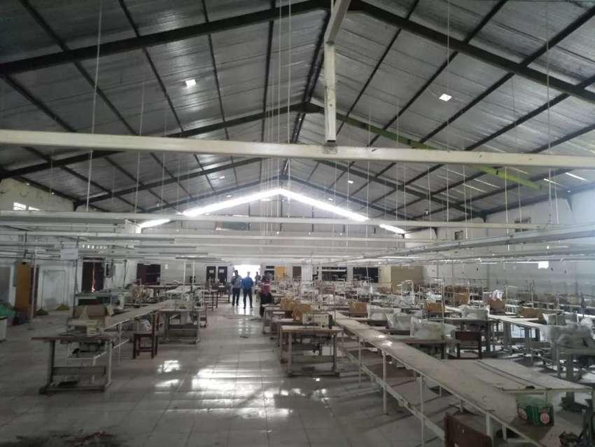 Pabrik garment include mesin atau alih fungsi menjadi gudang jual saja 0
