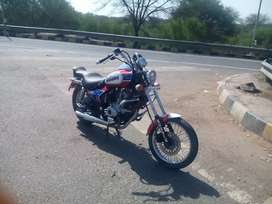 Modified bike Rs.40000