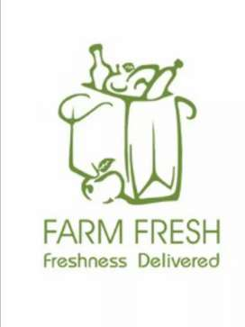 Free Home Delivery of Fresh Fruits Vegetables and organic milk
