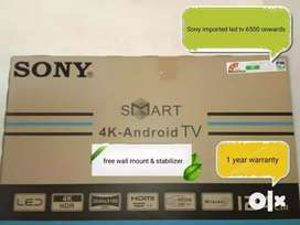 Imported Sony LED TV by made in Malaysia all size available 70% off...