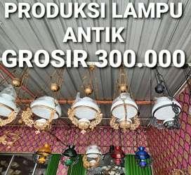 Produksi Lampu Gantung Antik Klasik Hias Joglo Gebyok