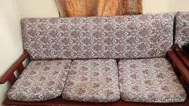 SOFA (3 +1+1 seating) + 1 Table