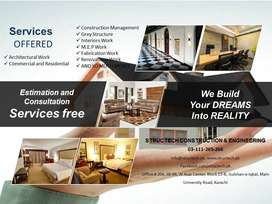 Construction / Renovation Works Bungalows, Flats, Home & Office