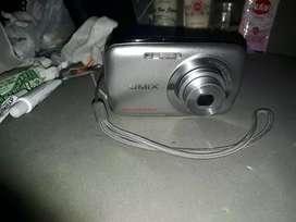 Kamera warna silver lumix panasonic tipe dmc s1