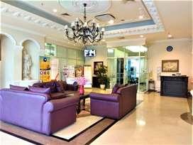 Sewa Apartemen Nyaman 1BR The Boulevard-Jakarta Pusat, Full Furnish