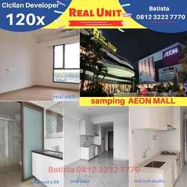 Apartment Sky House BSD+ samping aeon mall cicil 120x flat