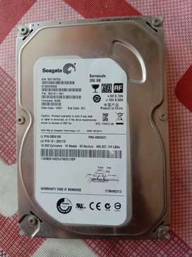 New Hard disk 250 GB with warranty v