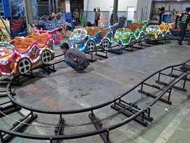 MURAH odong kereta mini coaster rel lantai isi 4 gerbong