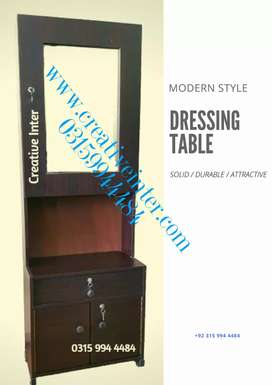 Dressing table in economcal rate sofa bed dining coffee chair wardrobe