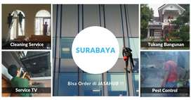 Jasa Cleaning, Laundry, Tukang Bangunan, Service TV, Fogging Surabaya