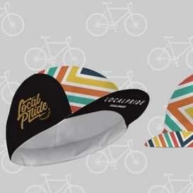 Topi Sepeda Lipat Motif Banyak dan Keren