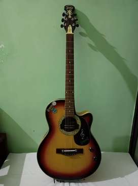 1year Old Graceson Guitar