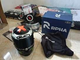 Helm Hjc rpha 10+ mulus like new