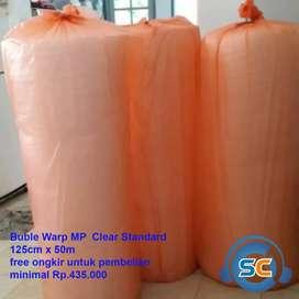 Bubble Warp ukuran 125cm x 50m Standard MP clear