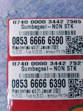 Kartu cantik langsa as 66666