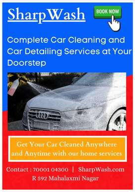 Marketing for big car cleaning company