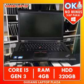 LENOVO THINKPAD T430 CORE I5 4GB 320GB LAPTOP BEKAS NOTEBOOK MURAH
