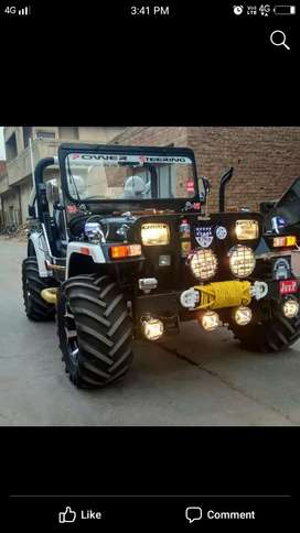 Modified Willy new jeep