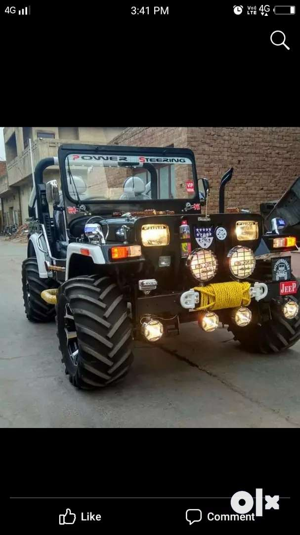 Modified Willy new jeep 0