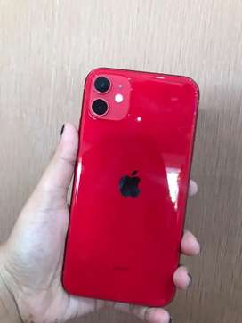 Dijual iphone 11 128gb Red second original