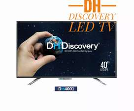 """Brand New box led tv 32"""" smart DH Discovery at 9999"""