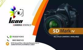 Canon 5D mark 4 rent full kit