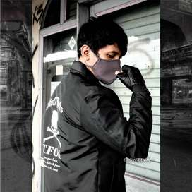 Jaket Coach Skull Works TFOA Series Black