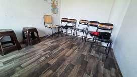 Chair + revolving chair