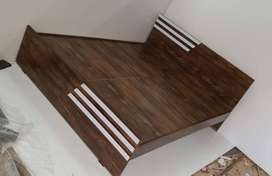 bed without storage manufacture price