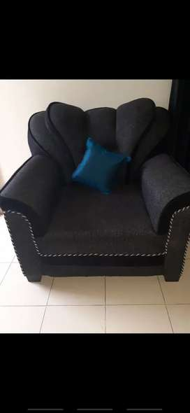 Brand new sofa set with two chair 10000