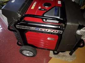 Honda Generator Eu70is SELF-START  VeryLessused for SALE in Thrissur