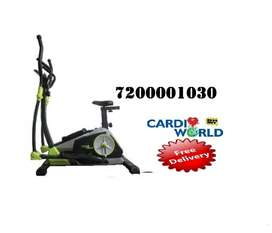Elliptical for homeuse with 6 kg magnetic wheel