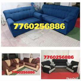 Notorious look new sofa set with warranty
