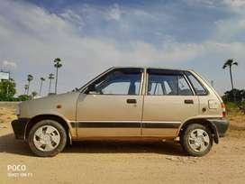 Maruti Suzuki 800 2001 CNG & Hybrids 100078 Km Driven