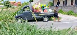 Sewa pick up + driver buang puing dan segala jenis angkutan pickup