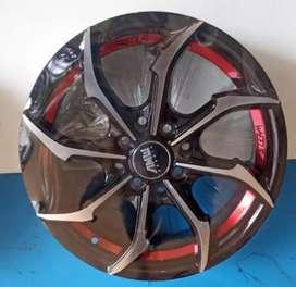Jual velg R15x6.5 h8x100/114.3 et38 bisa untuk mobil Xenia Datsun go